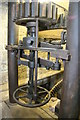 SO7348 : Archer's mill, Cradley - close-up of mechanism by Chris Allen