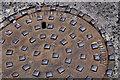 J3373 : Millfield Foundry manhole cover, Belfast (2) by Albert Bridge