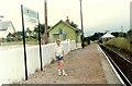 NN0976 : Corpach railway station by Raymond Knapman