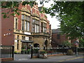 SP0885 : Friends Institute, Moseley Road by Michael Westley