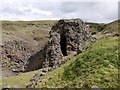 NY9139 : Lead mine at West Rigg Opencut by Andrew Curtis