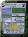 TM2446 : Open Access Map on Main Road by Adrian Cable