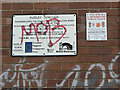SK2001 : Notices at Fazeley Junction by Alan Murray-Rust