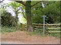 TM3154 : Footpath to Quill Farm by Adrian Cable