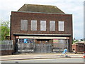 SP0077 : Longbridge View - Going Soon, BR Ticket Office by Roy Hughes