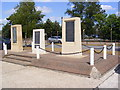 TM2445 : Monument to RAF Martlesham Heath by Geographer