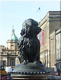 NT2573 : Greyfriars Bobby statue, George IV Bridge by kim traynor