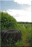 TL7604 : Footpath to Sporhams Farm by Glyn Baker