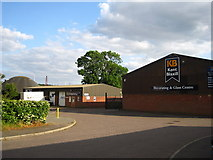 TM2850 : Trading estate off Wilford Bridge Road by Chris Holifield