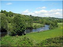 ST7065 : River Avon, Kelston Park Near Bath by Roy Hughes