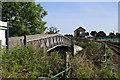 TG3018 : Footbridge over the B1354 by Glen Denny