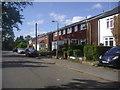 SU8368 : Plough Lane, Wokingham by David Howard