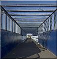 TA0828 : Footbridge near Argyle Street, Hull by Paul Harrop