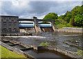 NN9357 : Pitlochry Hydro-electric dam by John Allan