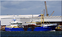 J3475 : The 'Emerald Gratia' at Belfast by Rossographer