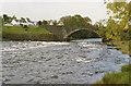 NG8580 : Poolewe bridge by Nigel Brown