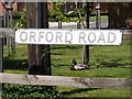 TM3655 : Orford Road sign by Adrian Cable