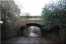 NT2676 : South Fort Street Bridge over NNCR 75 by N Chadwick