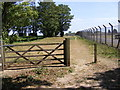 TM3453 : Footpath to Enterprise Park by Adrian Cable