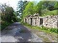 B8908 : Ruin, Crocknadornoge by Kenneth  Allen