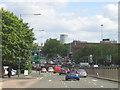 SP0685 : A38 Suffolk Street Queensway approaching Underpass by Roy Hughes