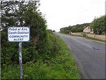 B8323 : Road at Coshclady by Kenneth  Allen