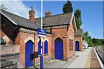 SK3281 : Dore and Totley Station by Ashley Dace