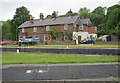 SJ6275 : Saltersford Lock Cottages by Mike Todd