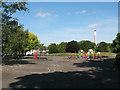 TQ3677 : Playground in Folkestone Gardens by Stephen Craven