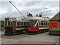 NZ2254 : Tram stop, Beamish by Pauline E