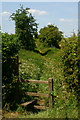 TQ2453 : Stile at Lower Kingswood, Surrey by Peter Trimming
