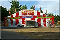 TQ3186 : Entrance to Bank Holiday fun fair, Finsbury Park, May 2011 by Jim Osley