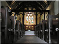SH7683 : Inside Saint Tudno's Church by David Dixon