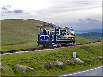 SH7683 : The Great Orme Tramway by David Dixon