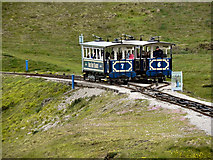 SH7683 : Great Orme Tramway by David Dixon