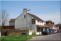 TQ4251 : The Carpenters Arms, Limpsfield Chart by N Chadwick