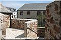 SX0352 : St Austell Bay: Charlestown Foundry by Martin Bodman