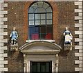 TQ3181 : Bluecoated Charity children, Hatton Garden by Julian Osley
