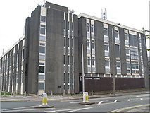 SD4364 : Morecambe Telephone Exchange by David Hillas