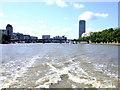 TQ3078 : Lambeth Bridge on The River Thames by PAUL FARMER