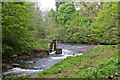 NN8522 : Weir On The Turret Burn by Martin Addison