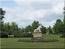 SE7170 : The Boar Garden, Castle Howard by Pauline E