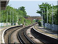 TR1166 : Railway lines at Whitstable by Malc McDonald