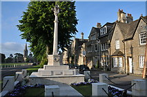 SP3509 : War Memorial in Witney by Philip Halling