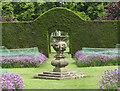 SE7169 : Sundial in the walled garden, Castle Howard by Pauline E