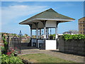 TQ8109 : Shelter at White Rock Gardens by Oast House Archive