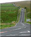 NY8791 : Country road near Otterburn (2) by Stephen Richards