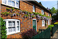 SP8027 : Terraced Cottages, Swanbourne by Cameraman