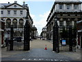 TQ3877 : Park Row entrance to the Old Royal Naval College, Greenwich by PAUL FARMER