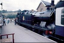 NZ8205 : North Yorkshire Moors Railway - 1987 by Helmut Zozmann